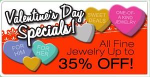 Pawn shop valentine jewelry specials