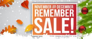 November to December Sale